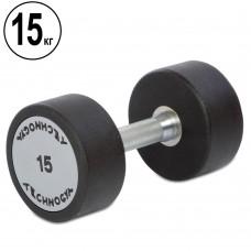 Гантель цілісна професійна TechnoGym 1х15 кг, код: TG-1834-15