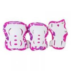 Комплект захисту зап'ястя, колін і ліктів Tempish Fid Kids Pink S (3 предмета), код: 1020000004/pink/S
