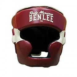 Боксерський шолом Benlee Hopkins L бордовий, код: 199106/2025