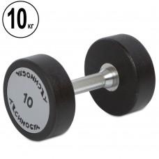 Гантель цілісна професійна TechnoGym 1х10 кг, код: TG-1834-10