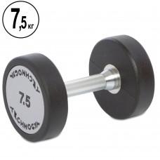 Гантель цілісна професійна TechnoGym 1х7,5 кг, код: TG-1834-7_5