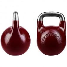 Гиря CrossGym Gordeyevskaya Burgundy 12 кг, код: GG-12BG