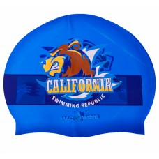Шапочка для плавання MadWave California темно-синій, код: M055833000W-S52